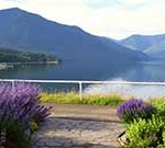 View of the Arrow Lakes from the Waterfront Walkway