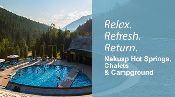 Nakusp Hot Springs, Chalets & Campground