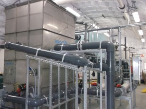 DAF Treatment Plant, sewer